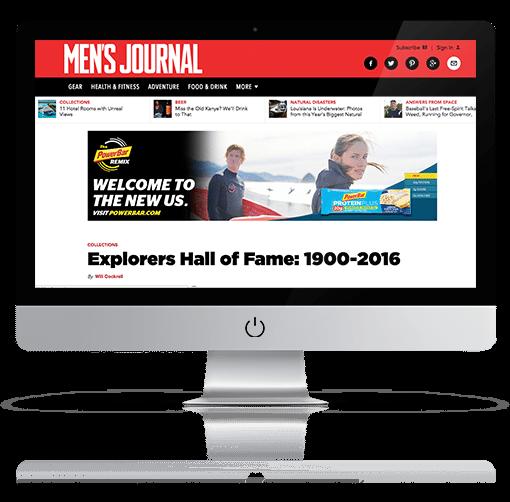 Men's Journal Explorers